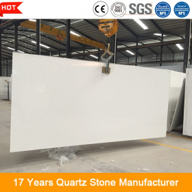 white artificial quartz stone